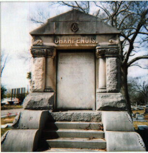 Monument to John F. Champenois